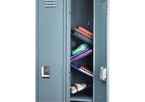 Designed By Students Floating Locker Shelves Blue/Black