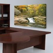 """Biggies- Canvas Board-Stream 38"""" x 22"""