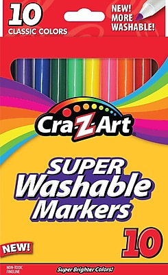 Cra Z Art Classic Super Washable Fineline Markers 10 Pack