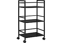 Staples E2G Metal Cart, Black