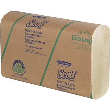 Scott® - Serviettes multiplis absorbantes, bte/16 paq.