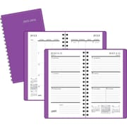 2015-2016 Staples® Pocket Academic Weekly/Monthly Planner, July-August, Purple, 3 1/2 x 6 3/8