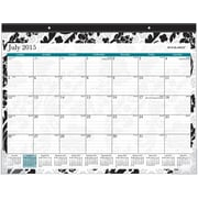 2015-2016 AT-A-GLANCE® Academic Madrid Compact Desk Pad