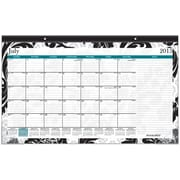 2015-2016 AT-A-GLANCE® Academic Madrid Compact Desk Pad, July-June, 17 3/4 x 10 7/8