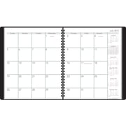 2015-2016 AT-A-GLANCE® Academic Monthly Planner, July - December, Black, 9 x 11