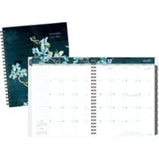 2015-2016 AT-A-GLANCE® Branches and Blooms Academic Monthly Planner