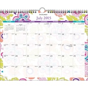 AT-A-GLANCE® 2015/2016 Good Vibrations Monthly Academic Wall Calendar (PM20-707A-A5)