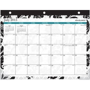 AT-A-GLANCE® 2015/2016 Madrid Academic Mini Monthly Desk Pad Calendar (SK93-706A-A5)