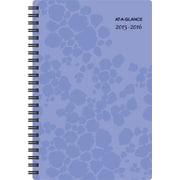 AT-A-GLANCE® 2015/2016 Lilac Cheetah Weekly/Monthly Academic Planner (157-200A-16)
