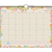 2015-2016 AT-A-GLANCE® Garden Party Academic Wall Calendar 15 x 12