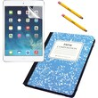 iHome iPad (2,3,4) Composition Case, Screen Protector and Stylus - Blue