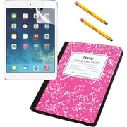 iHome iPad Mini Composition Case, Screen Protector and Stylus - Pink