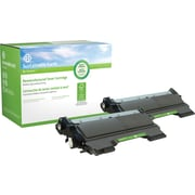 Sustainable Earth by Staples Remanufactured Brother TN-450 Black Toner Cartridge High Yield Twin Pack (SEBTN4502RDS)