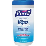 Purell Hand Sanitizing Wipes Clean Refreshing Scent 40 Count Canister