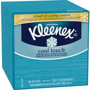 Kleenex® Cool Touch™ Moisturizing Facial Tissues, Upright, 2-Ply, 27/Case