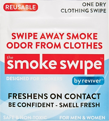 Shark Tank Reviver Odor Eliminating Swipes for Smoke