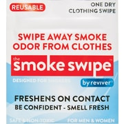 Shark Tank® Reviver Odor Eliminating Swipes for Smoke