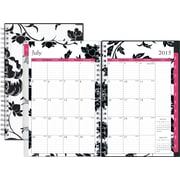 """July 2015 - June 2016 Blue Sky® Barcelona Clear Cover Academic Year 5"""" x 8"""" Weekly/Monthly Planner"""