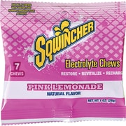 Sqwincher Electrolyte Chews, Pink Lemonade, 12 Pack