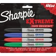Sharpie® EXtreme Fade Resistant Fine Point Permanent Markers, 4/Packs
