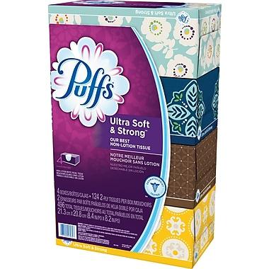 Puffs® Ultra Soft & Strong Facial Tissue
