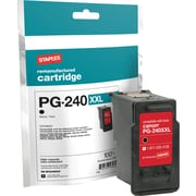 STAPLES CANON PG-240XXL BLACK INK (SIC-RPG240XXLB)