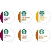 Keurig® K-Cup® Starbucks® Regular Coffee, 16 Pack, Assorted Flavors