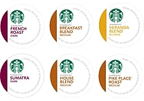 Keurig® K-Cup® Starbucks® Regular Coffee, 16 or 24 Packs, Assorted Flavors