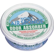 Odor-Absorbing Replacement Sponge, Neutral, Blue/white