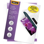 Fellowes 3 mil Laminating Pouches Letter Size, 120 Bonus Pack (100+20 Free)