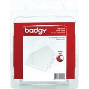 BADGY 30MIL 0.76MM THICK PVC PLASTIC CARDS QTY 100