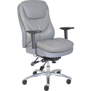 Serta® Smart Layers™ Commercial Series - 600 Task Chair, Puresoft® Faux Leather
