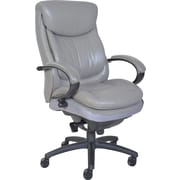 Serta® Smart Layers™ Commercial Series - 300 Executive Chair, Puresoft® Faux Leather, Grey