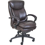 Serta® Smart Layers™ Commercial Series - 300 Executive Chair, Puresoft® Faux Leather, Brown