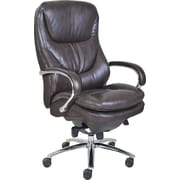 Serta® Smart Layers Commercial Big and Tall Series - 500 Executive Chair, Faux Leather, Brown