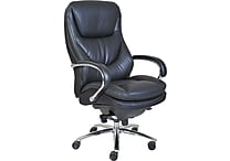 Serta® Smart Layers™ Commercial Big & Tall Series - 500 Executive Chair, Faux Leather, Black