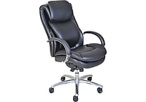 Serta® Wellness by Design Air™ Commercial Series- 100 Executive Chair, Puresoft® Faux Leather, Black