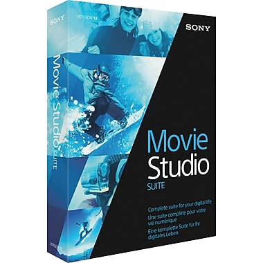 Sony® – Suite de production Movie Studio 13, bilingue