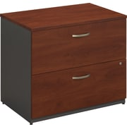 Bush Business Westfield 36W 2Dwr Lateral File, Hansen Cherry