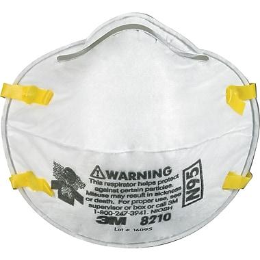 3M™ 8210 N95 Particulate Respirator, 160/Case