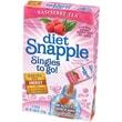 SnappleIced Tea Singles To-Go, Diet Raspberry Tea, 0.68 oz Stick, 72 sticks