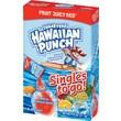 Hawaiian Punch Drink Mix Singles, Fruit Juicy Red, 0.75 oz Stick, 96 sticks