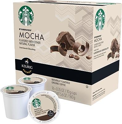 Keurig K-Cup STARBUCKS MOCHA, 16 Pack 1519417