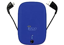 Halo Pocket Power 5500mAh Portable Charger, Assorted Colors