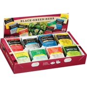 Bigelow® Herbal Tea Variety Pack Gift Box, Regular, 64 Tea Bags/Box