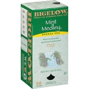 Bigelow® Mint Medley Herb Tea, Decaffeinated, 28 Tea Bags/Box