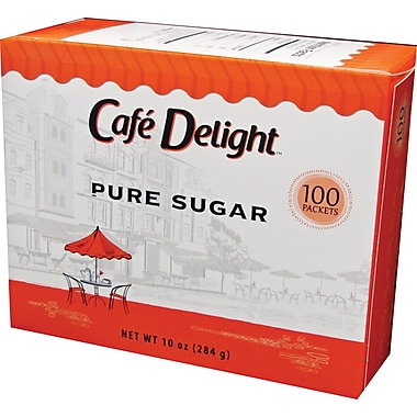 Dixie Crystals Pure Sugar Packets, 100/Box