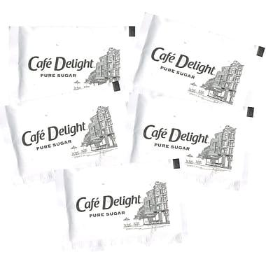 Café Delight Pure Sugar Packets, 1,000/Box