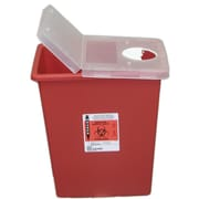 Kendall/Covidien Sharps Containers; 8 Gallon with Hinged Lid