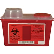 Monoject Sharps Container; Chimney-Top, 4-qt.
